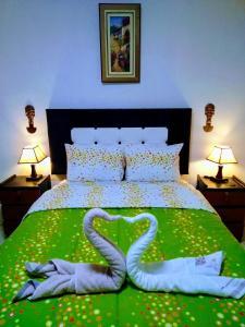 Cama o camas de una habitación en Union Wasi