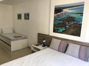 Cama ou camas em um quarto em Studio Everest Flats