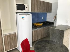A kitchen or kitchenette at Studio Everest Flats