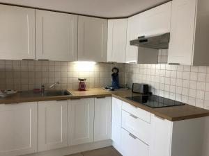 Een keuken of kitchenette bij Het Meerzicht