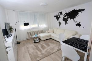 Istumisnurk majutusasutuses Apartman City Lux