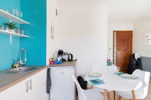 مطبخ أو مطبخ صغير في LP Anne