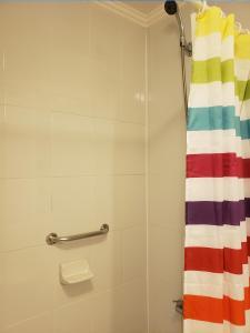 A bathroom at Apartamento Los Andes