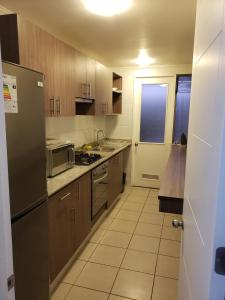 A kitchen or kitchenette at Apartamento Los Andes