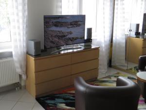 TV/Unterhaltungsangebot in der Unterkunft Ferienwohnungen Familie Schwarze
