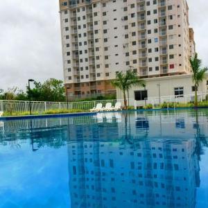 The swimming pool at or near Apartamento Temporada em São Luís