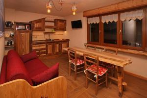 Зона вітальні в Eydappartamenti