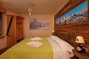 Ліжко або ліжка в номері Eydappartamenti