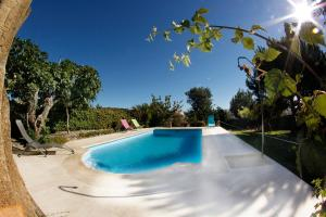 The swimming pool at or near Apartamentos Rurales la Solana