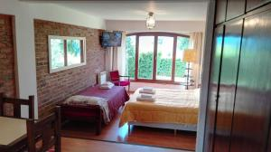 Una cama o camas en una habitación de Saint Moritz 6