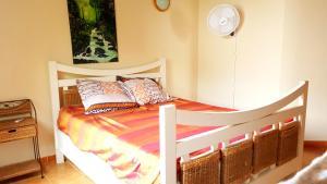 Postel nebo postele na pokoji v ubytování Plus Q'une Maison, Une Expérience !