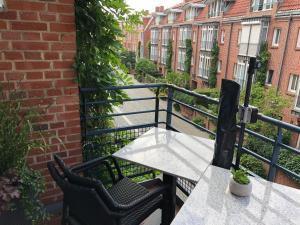 A balcony or terrace at Fernblick