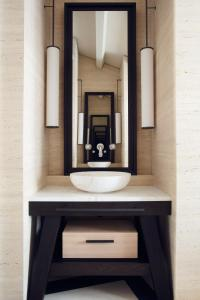 A bathroom at Palazzo Cristo