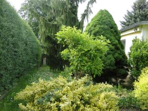 A garden outside Sommerhaus im Grünen