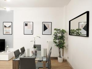Area soggiorno di Hintown Austere Elegance