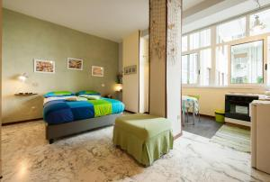 A bed or beds in a room at Latt e Liett