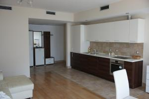 A kitchen or kitchenette at Apartments Alexander