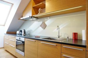A kitchen or kitchenette at ❤️ Ljubljana's Heart