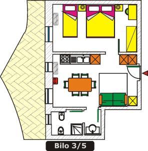 Planimetria di Residence Michelangelo