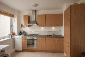 Küche/Küchenzeile in der Unterkunft Vakantieappartement Sea Gull