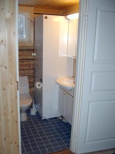 Kylpyhuone majoituspaikassa Kalliomajat
