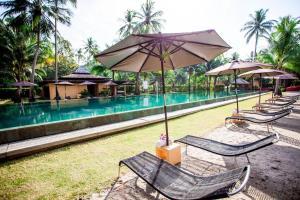 Swimmingpoolen hos eller tæt på Siam Royal View Villas
