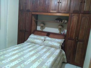 Een bed of bedden in een kamer bij Residência 2 Dorms no Braga