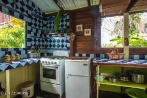 A kitchen or kitchenette at Jacoway Inn
