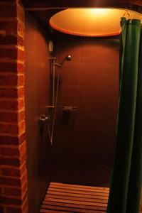 A bathroom at Brīvdienu māja Kažoki