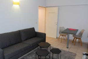 A seating area at Renovated Apartment in Antwerp city center