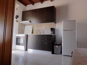 A kitchen or kitchenette at Ledakis Studios