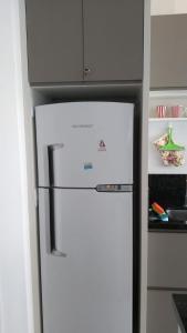 Una cocina o zona de cocina en Apartamento ar condicionado
