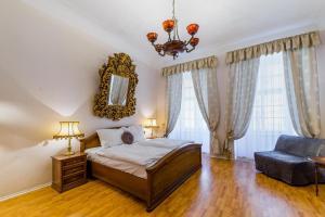 Ein Bett oder Betten in einem Zimmer der Unterkunft Residence Cosia Angels
