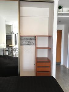 Una cama o camas cuchetas en una habitación  de Exclusivo departamento en Palermo