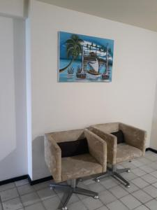 A seating area at Flat Edf Golden Beach