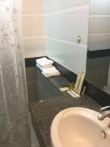 A bathroom at Borey Villa Ada