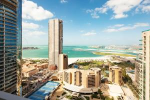 巴塞羅迪拜碼頭公寓鳥瞰圖