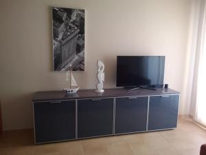 A television and/or entertainment center at Cormorant Apartments