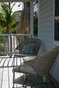 A balcony or terrace at Coconut Coast Villas