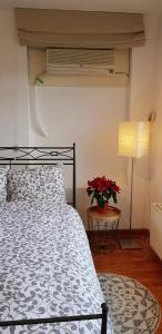 Een bed of bedden in een kamer bij Apartment Waldeck Bastion