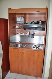 Кухня или мини-кухня в Paradise