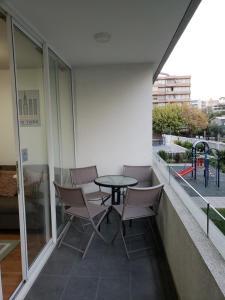 Un balcón o terraza de Arriendos LC