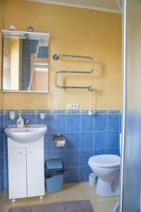 A bathroom at Kranto Vila