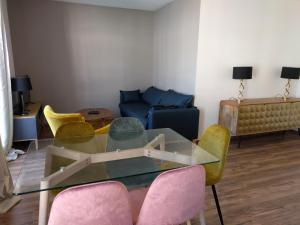 A seating area at Holiday Apartment Val d'Europe