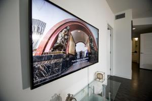 TV/Unterhaltungsangebot in der Unterkunft Downtown Oasis in DTLA