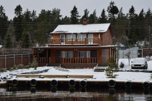 Гостевой дом ОНЕЖСКАЯ БУХТА зимой