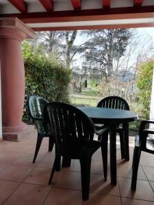 A balcony or terrace at Residence Parc Arradoy