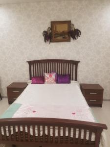 Кровать или кровати в номере вулиця 29-го Вересня 2\25