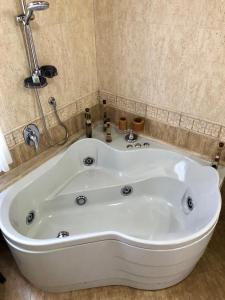A bathroom at Da Francesca