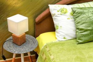 A seating area at Apartments Boka Heart